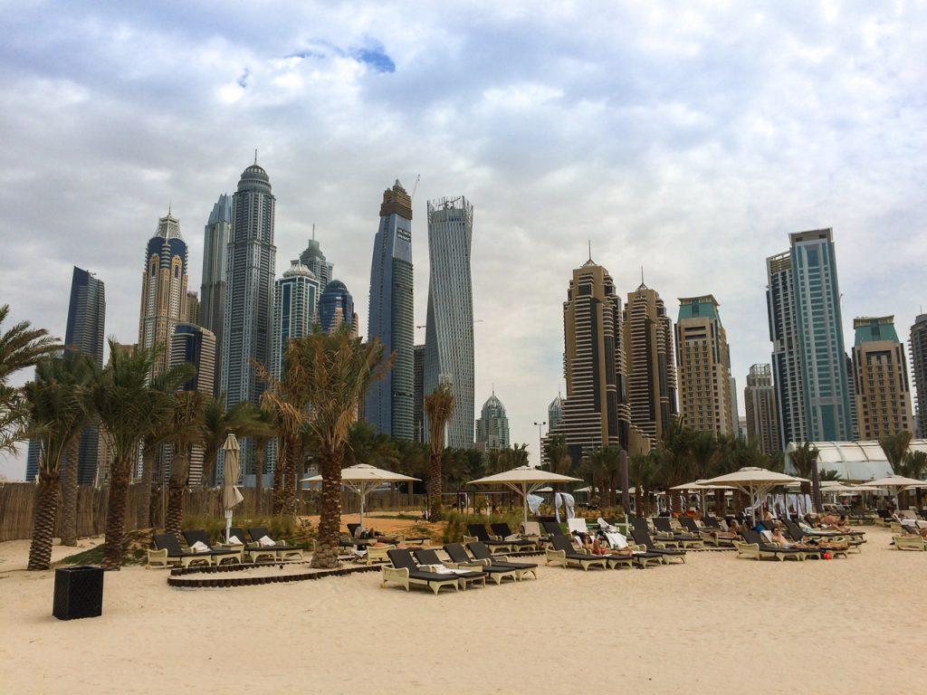 Dubai Marina Beach