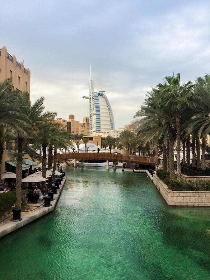 Burj Al Arab i Madinat Jumeirah