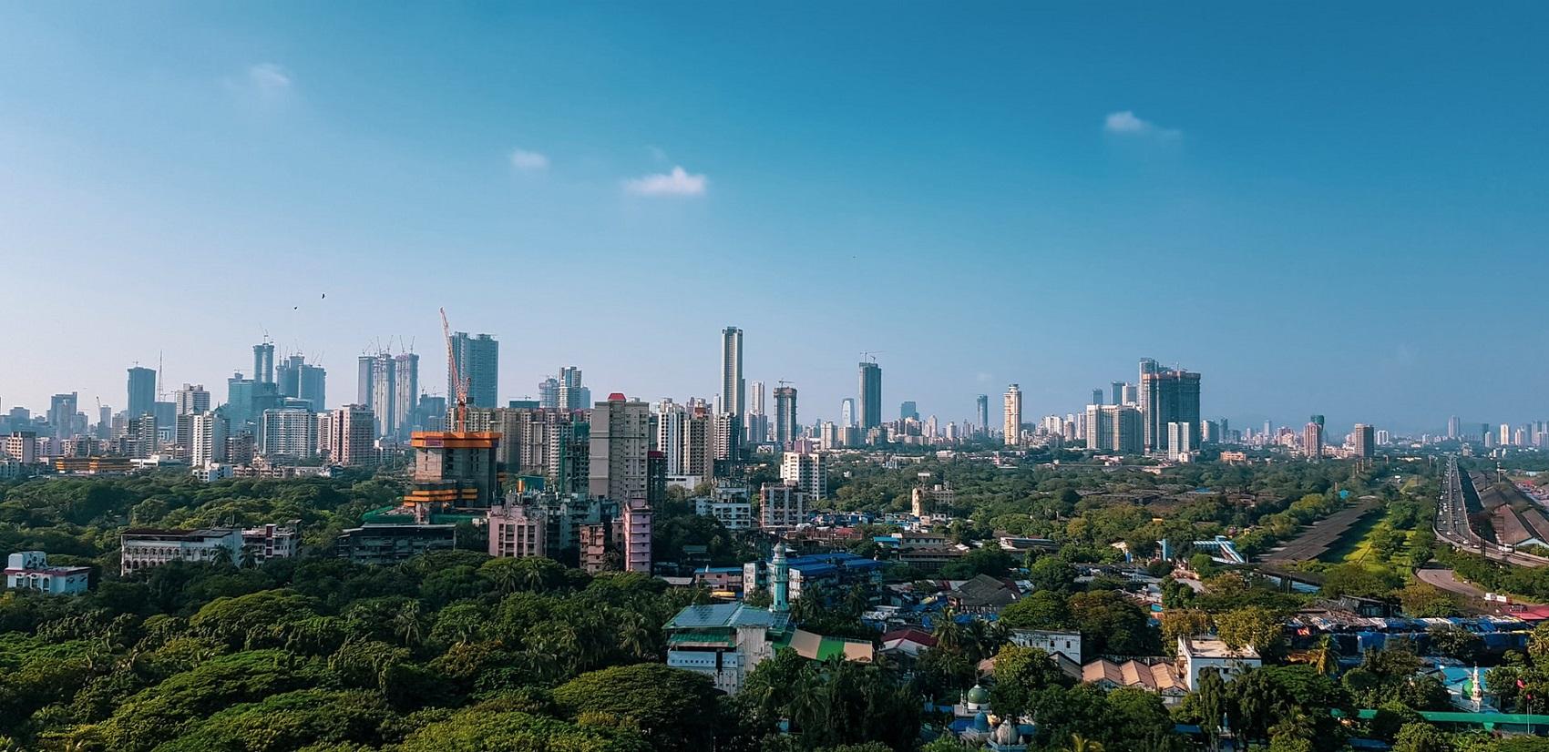 Bombaj w grudniu