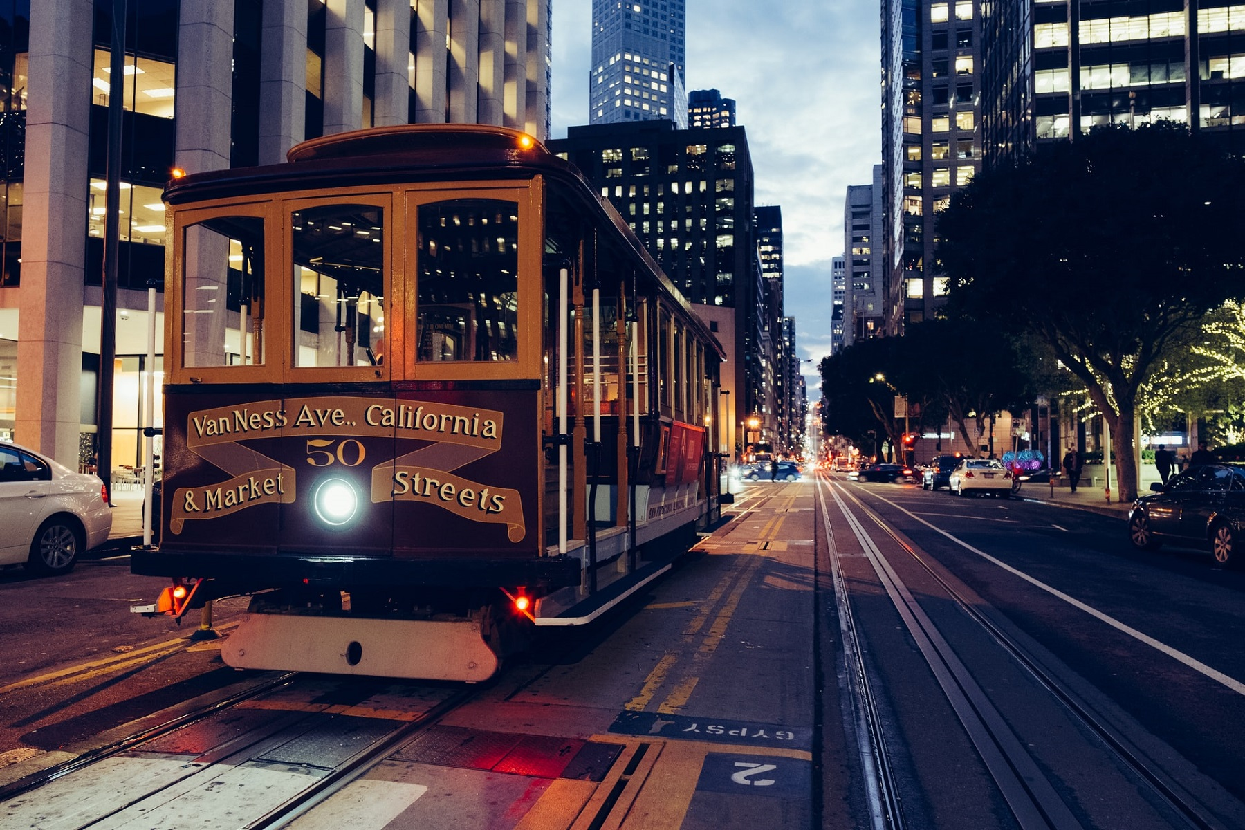 Cable Cars - atrakcja San Francisco