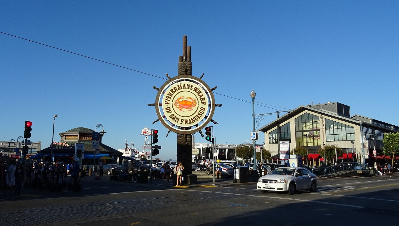 Fishermans Wharf - atrakcja San Francisco