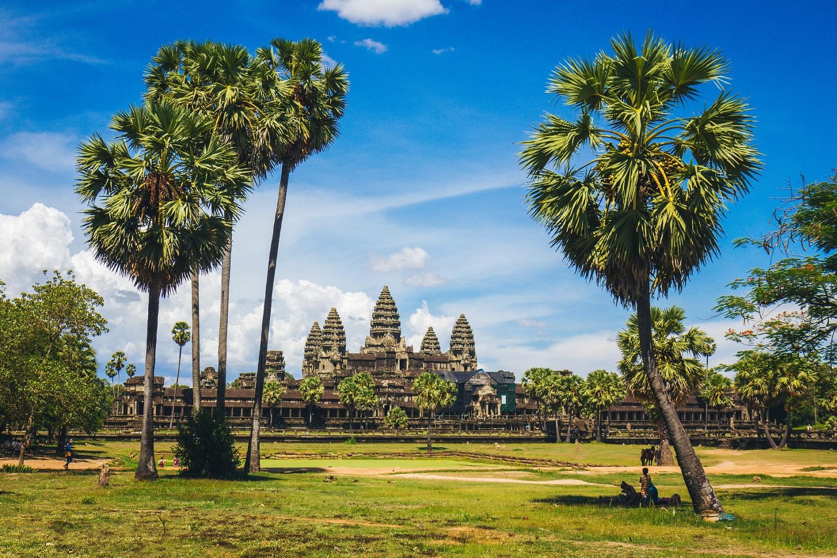 Kambodża w listopadzie