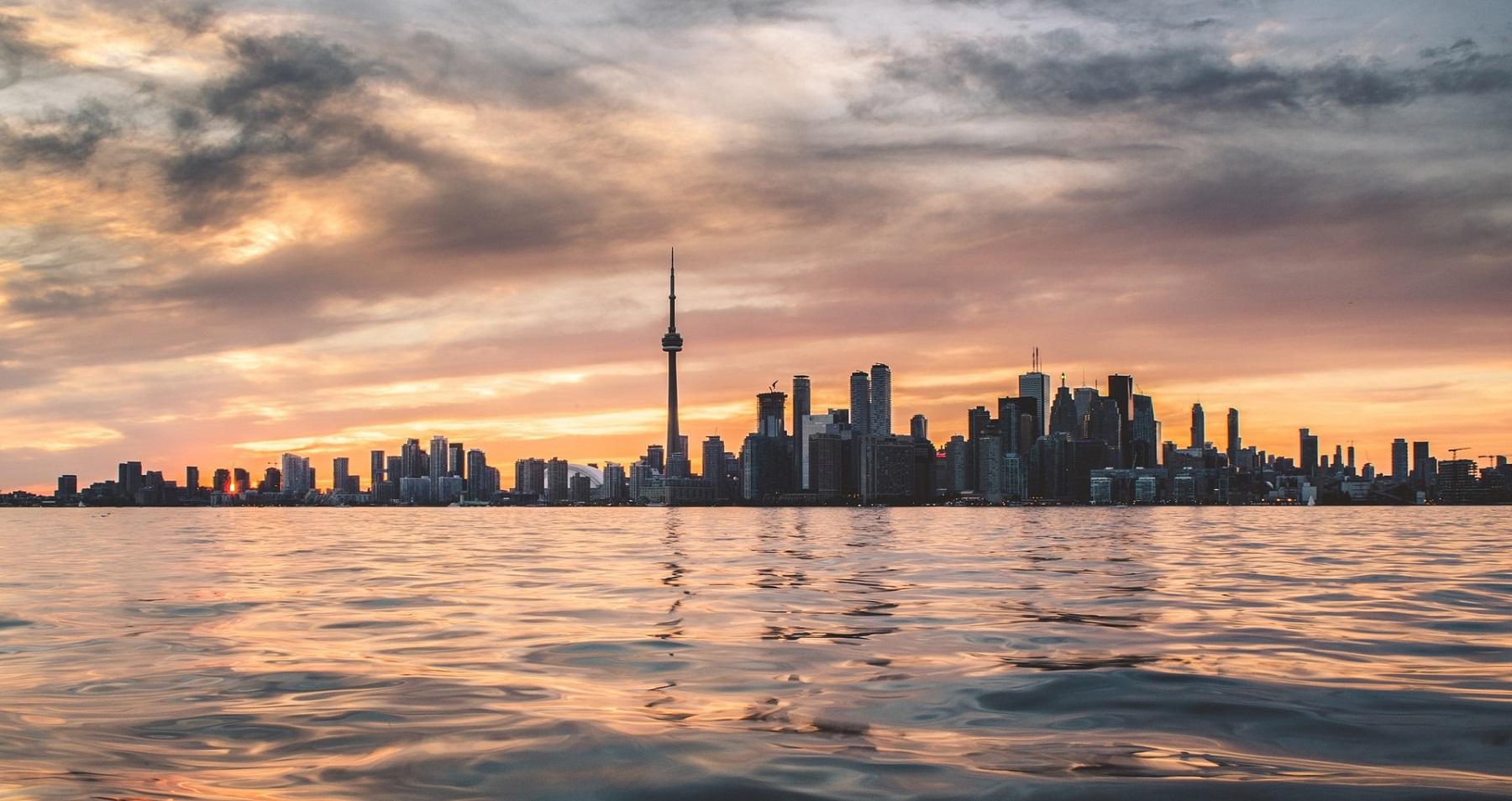 Kanada i Toronto lipiec