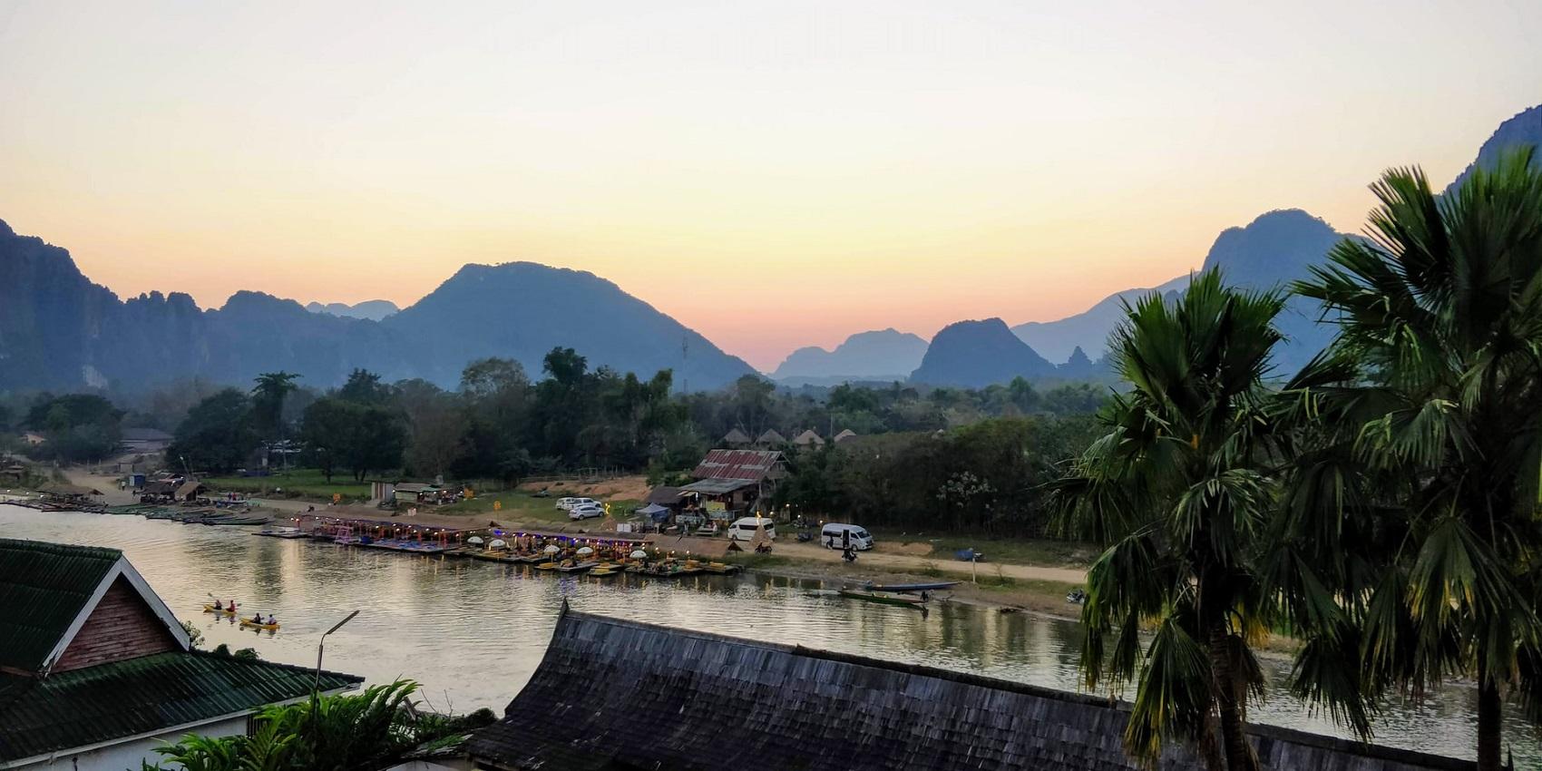 Laos w grudniu