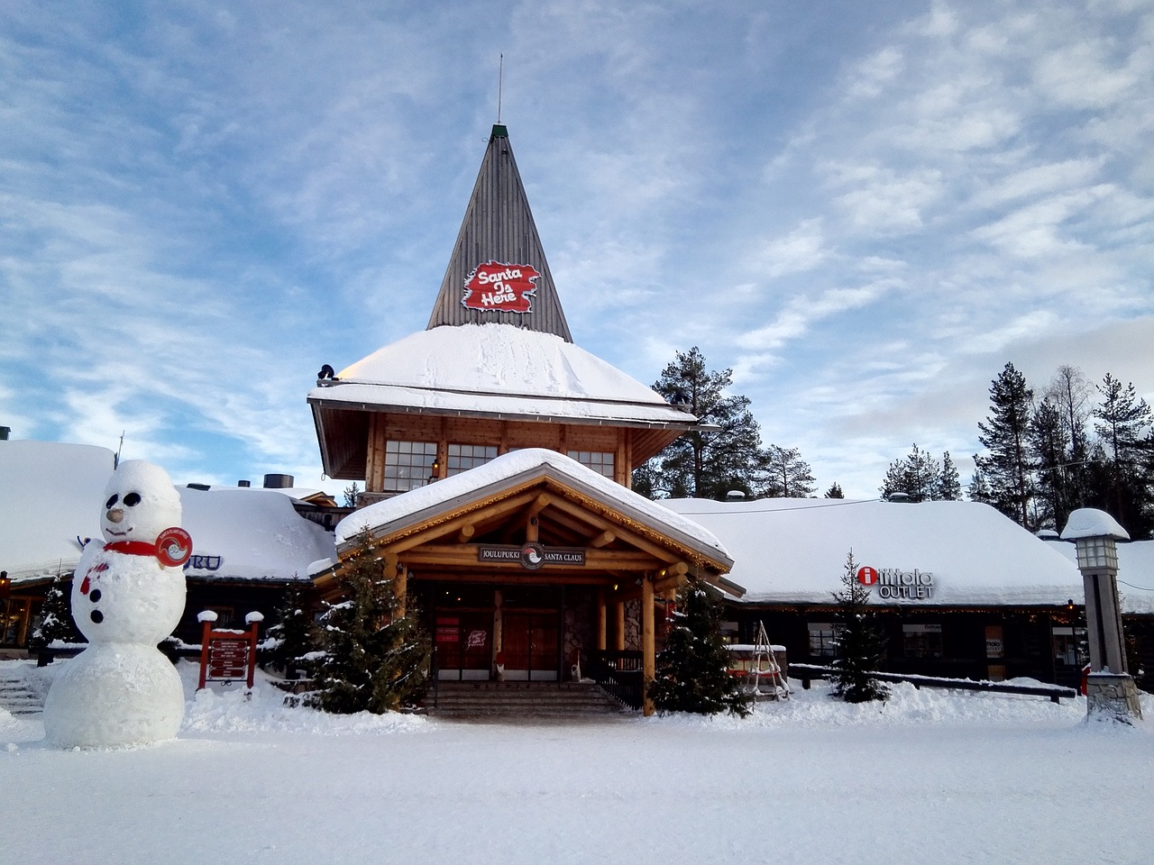 Laponia w grudniu