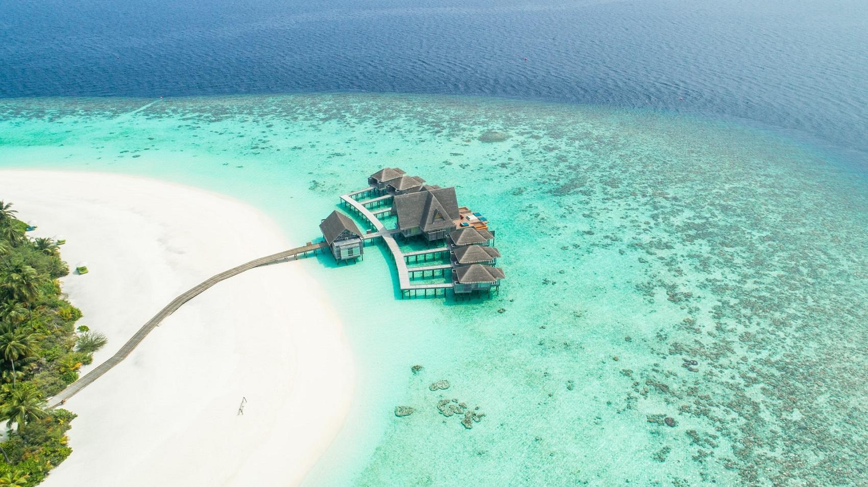 Malediwy w styczniu