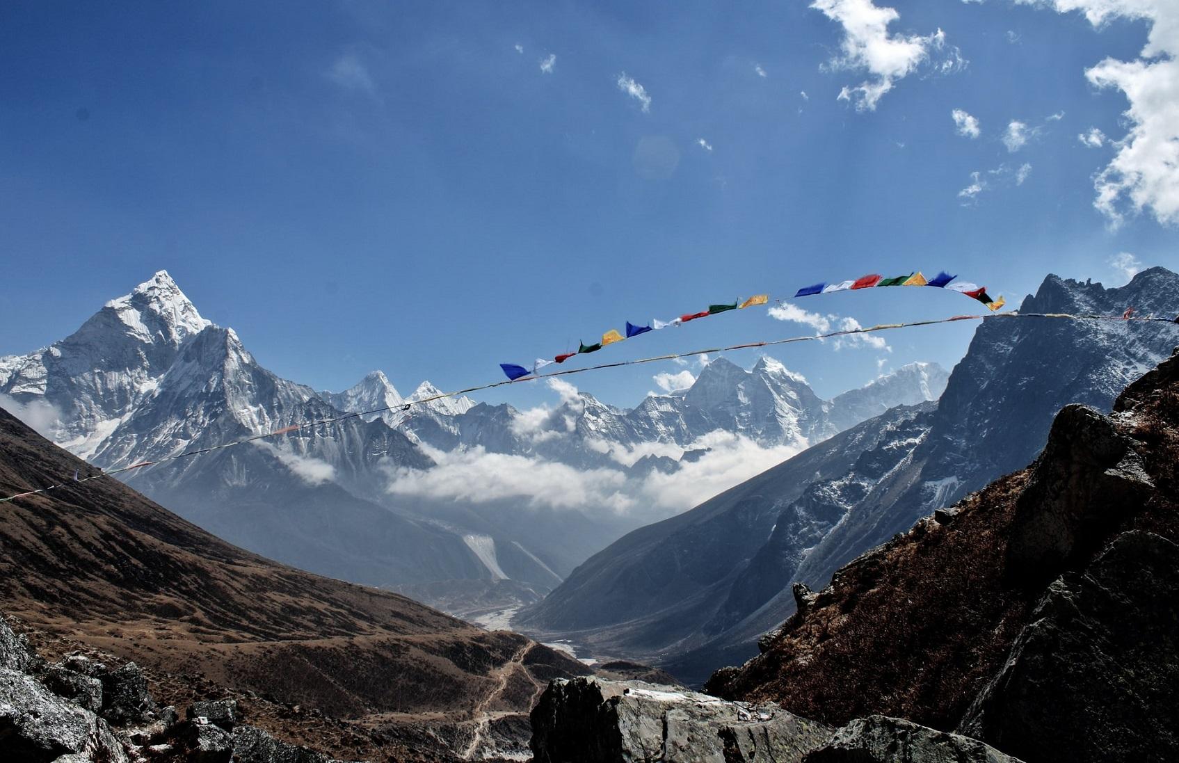 Nepal październik