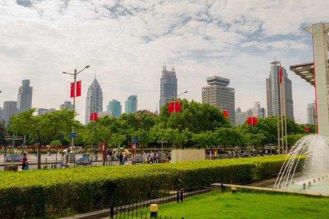 Plac Ludowy w Szanghaju