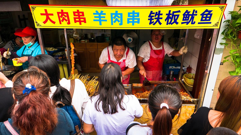 Qibao w Szanghaju - jedzenie