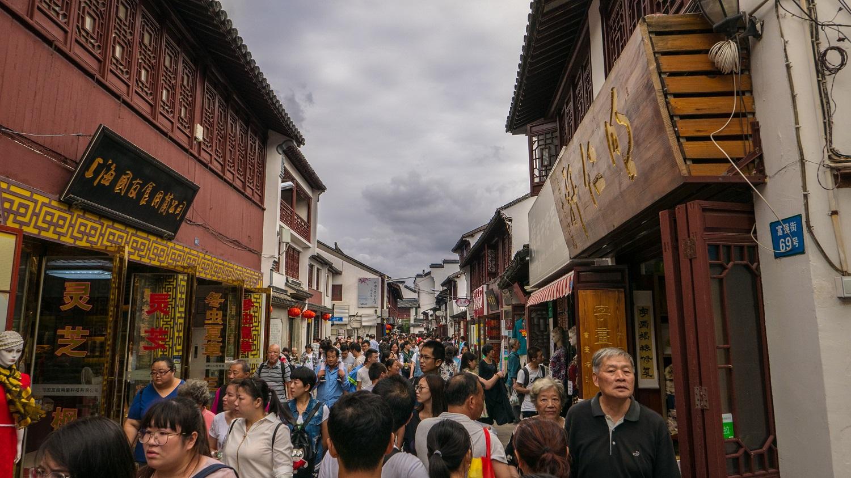 Qibao, Szanghaj i sklepy