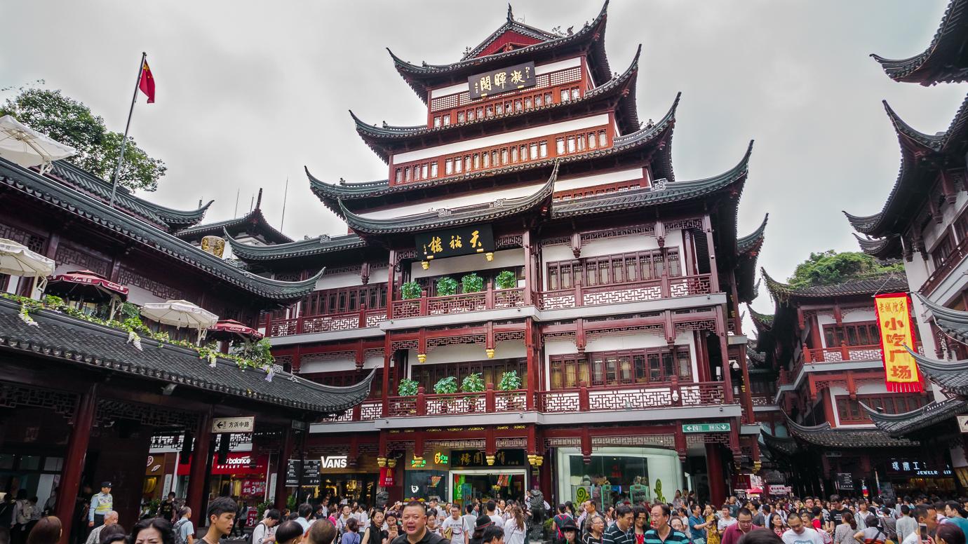 Shanghai The City God Temple