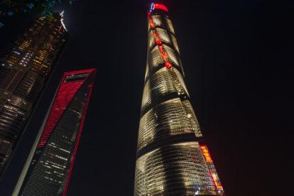 Shanghai Tower - najwyższy budynek na świecie