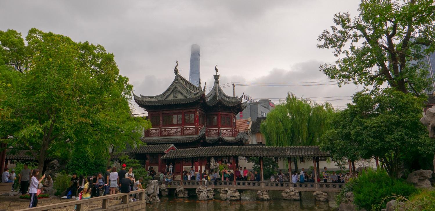 Shanghai Yuyuan Garden Views