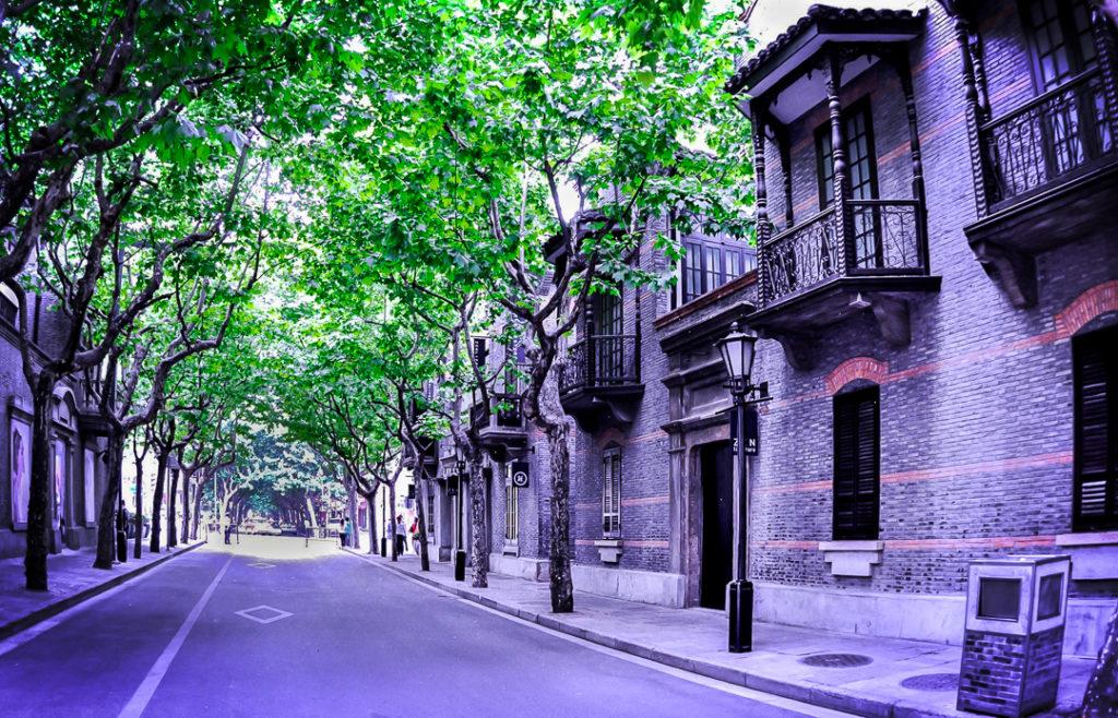 Szanghaj dzielnica francuska