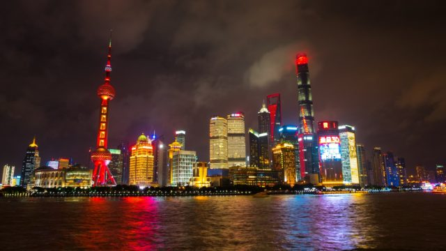 Szanghaj - Pudong Bund