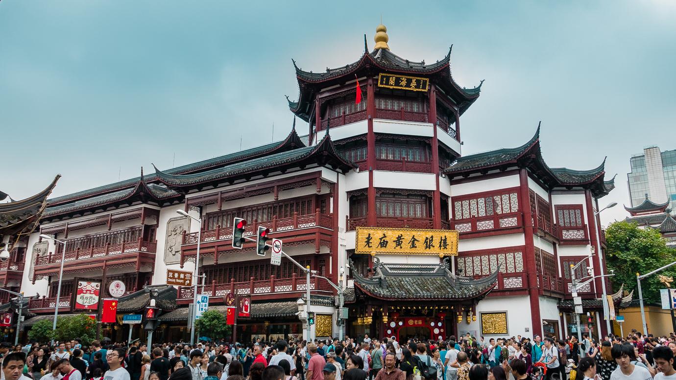 Szanghaj stare miasto
