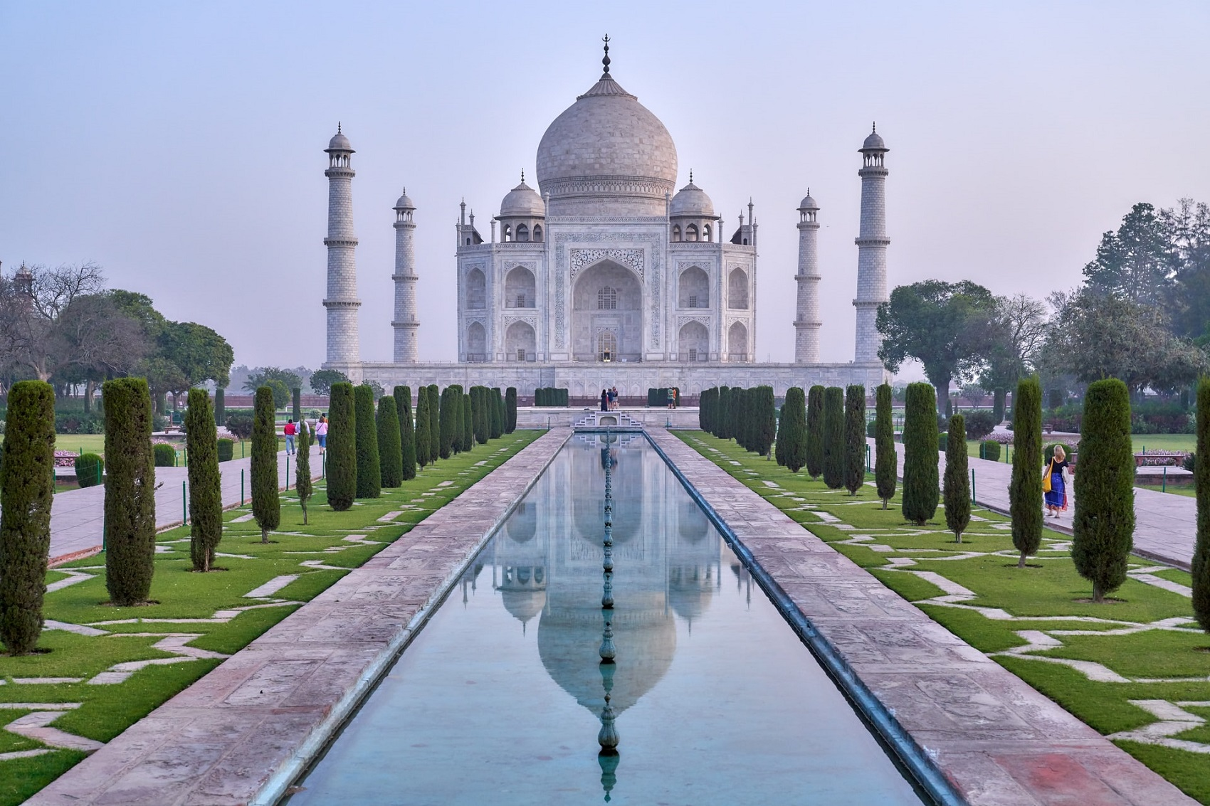 Taj Mahal grudzień
