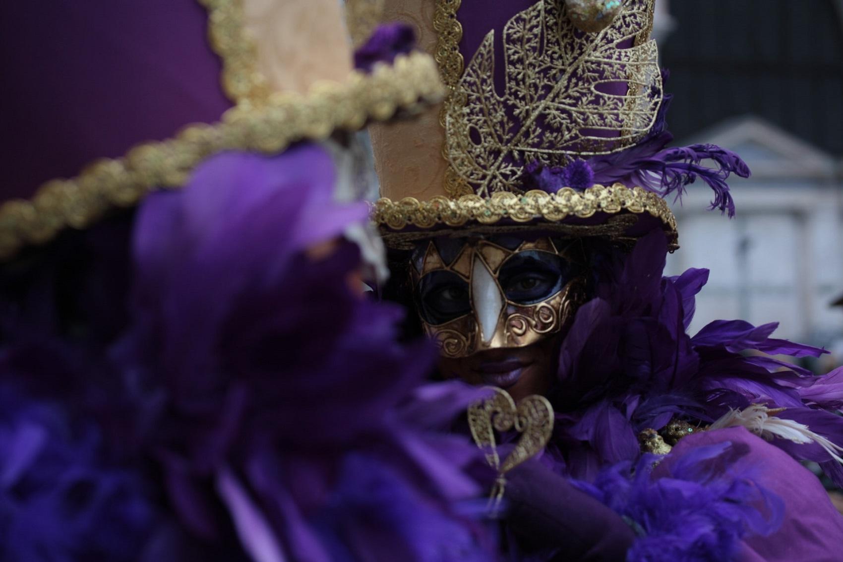 Karnawał w Wenecji w lutym