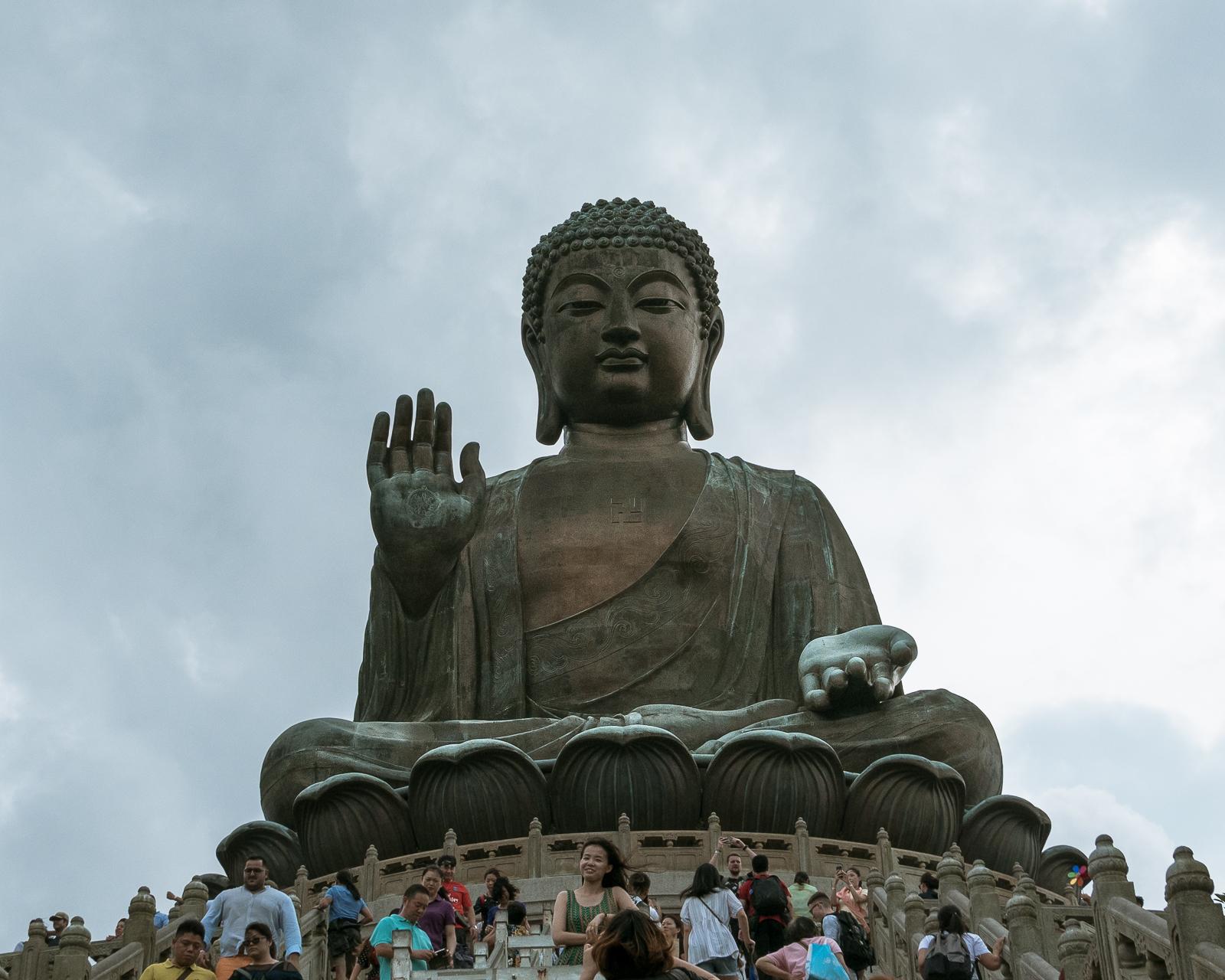 Wielki Budda - Hongkong co zobaczyć