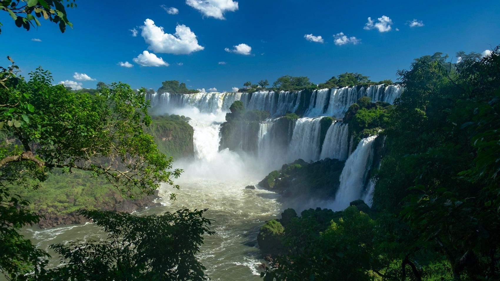 Wodospad Iguazu w grudniu