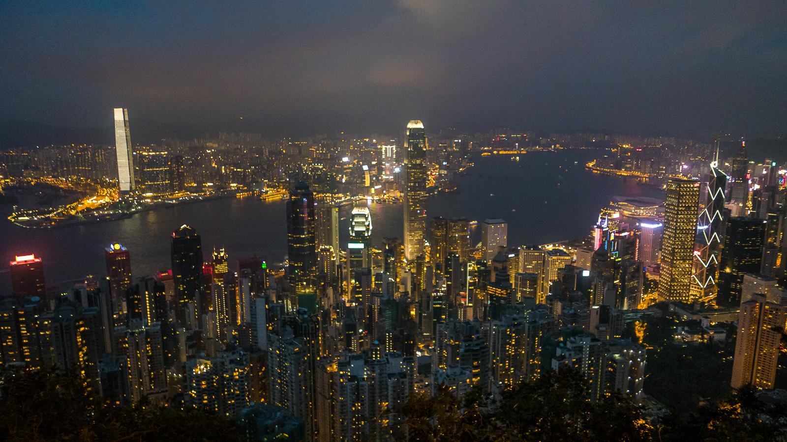 Wzgórze Wiktorii Victoria Peak - Punkt Widokowy jak dojechać - Hongkong co zobaczyć plan wyjazdu