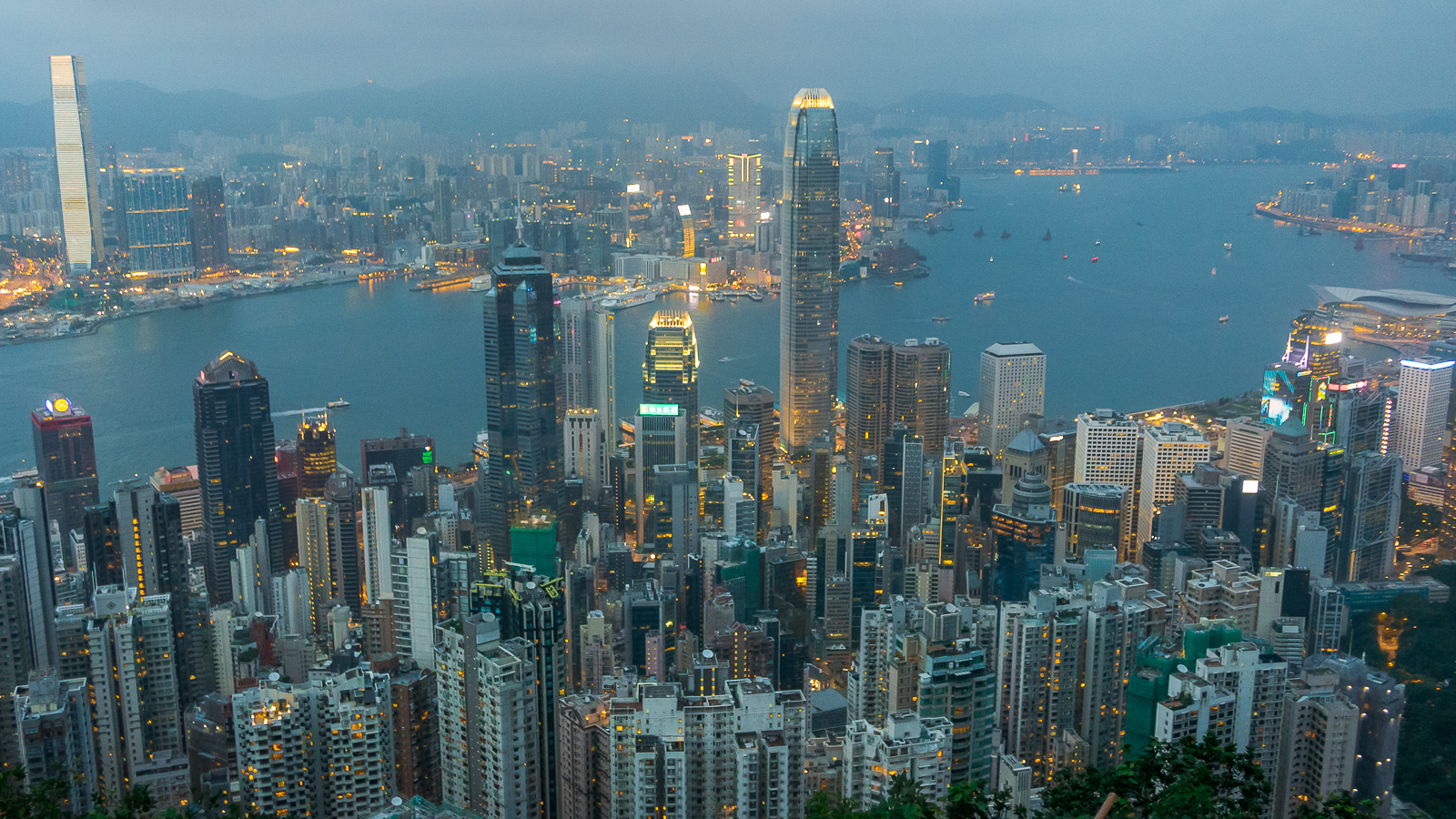 Wzgórze Wiktorii Victoria Peak - Punkt Widokowy jak dojechać - Hongkong co zobaczyć
